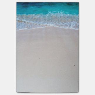 エキゾチックなビーチ及び海 ポストイット