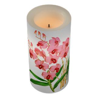 エキゾチックなピンクの蘭LEDの蝋燭 LEDキャンドル