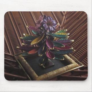 エキゾチックな植物の花の芸術のカジノの内部のDecoのギフト マウスパッド