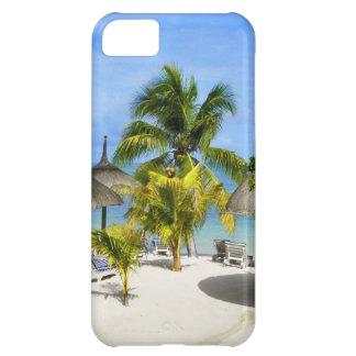 エキゾチックな熱帯ビーチのiPhone 5の場合 iPhone5Cケース