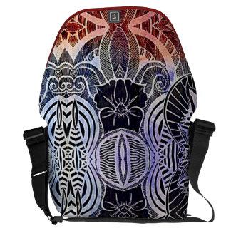 エキゾチックな種族の抽象的なライフスタイルのラップトップのバッグ クーリエバッグ