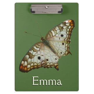 エキゾチックな蝶熱帯自然の写真撮影 クリップボード