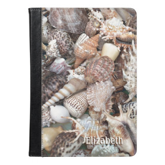 エキゾチックな貝殻の名前入りな名前 iPad AIRケース