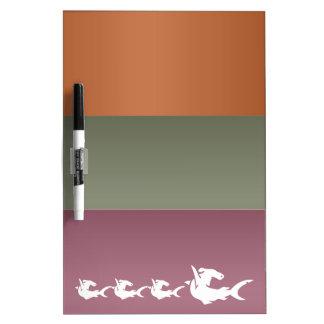 エキゾチックな金属のカラーストリップのライオンの魚 ホワイトボード