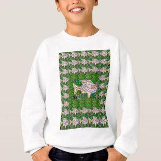 エキゾチックな金魚の魚の水生ペット-エレガントなギフト スウェットシャツ
