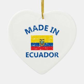 エクアドルで作られる セラミックオーナメント