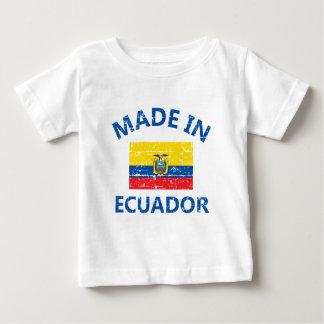 エクアドルで作られる ベビーTシャツ