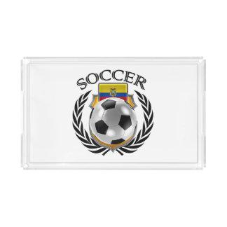 エクアドルのサッカー2016ファンのギア アクリルトレー