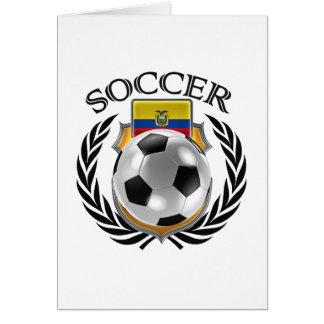 エクアドルのサッカー2016ファンのギア カード