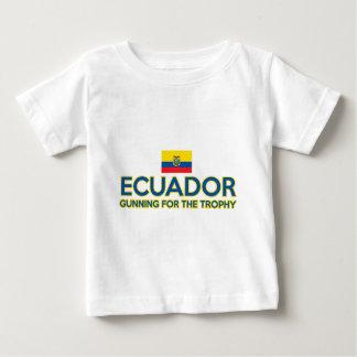 エクアドルのデザイン ベビーTシャツ