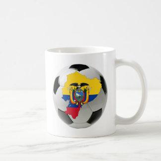 エクアドルの全国代表チーム コーヒーマグカップ