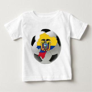 エクアドルの全国代表チーム ベビーTシャツ