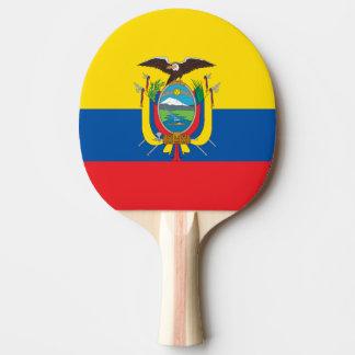 エクアドルの卓球ラケットの旗 卓球ラケット