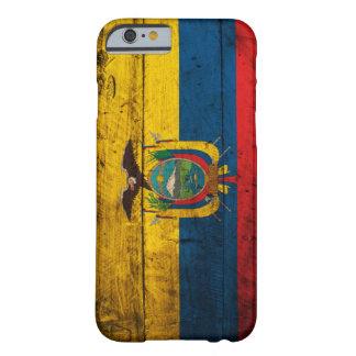 エクアドルの古い木の旗 BARELY THERE iPhone 6 ケース