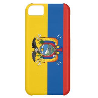 エクアドルの国旗の箱 iPhone5Cケース