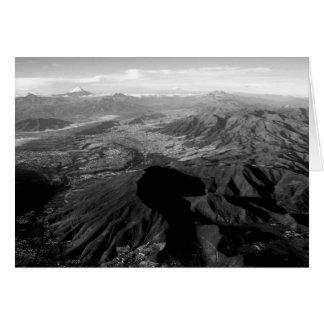 エクアドルの山 カード