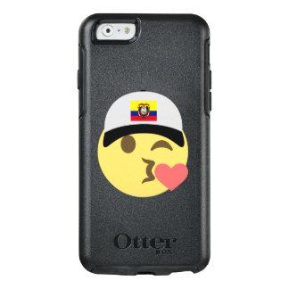 エクアドルの帽子のキスEmoji オッターボックスiPhone 6/6sケース