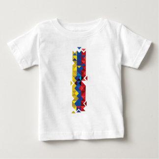 エクアドルの抽象的な旗、エクアドル色の共和国 ベビーTシャツ