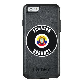 エクアドルの旗のシンプル オッターボックスiPhone 6/6Sケース