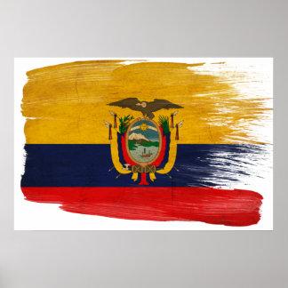 エクアドルの旗ポスター ポスター