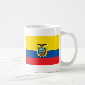 エクアドルの旗欧州共同体 コーヒーマグカップ