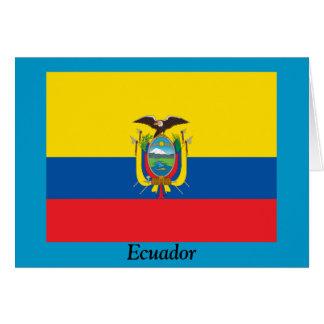 エクアドルの旗 カード