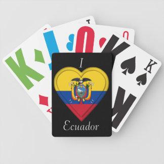 エクアドルの旗 バイスクルトランプ