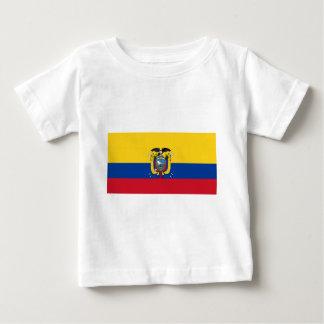 エクアドルの旗 ベビーTシャツ