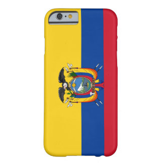 エクアドルの旗 BARELY THERE iPhone 6 ケース