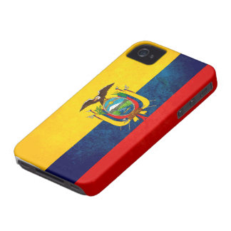 エクアドルの旗 Case-Mate iPhone 4 ケース
