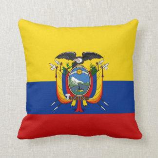 エクアドルの旗Xの旗の枕 クッション