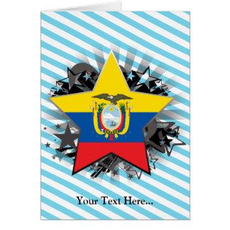 エクアドルの星 カード