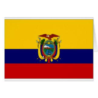 エクアドルの海軍旗 カード
