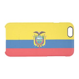 エクアドルの澄んなiPhoneの場合の旗 クリアiPhone 6/6Sケース