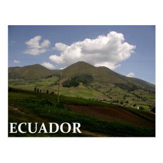 エクアドルの田舎 ポストカード