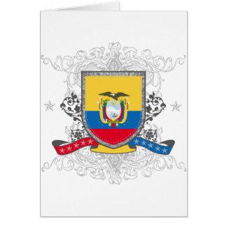 エクアドルの盾 カード