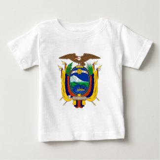 エクアドルの紋章付き外衣 ベビーTシャツ
