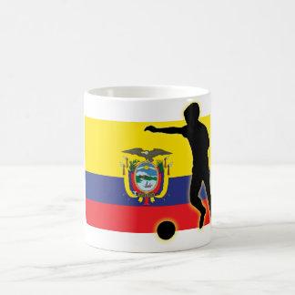 エクアドルの罷業者 コーヒーマグカップ