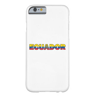 エクアドルの電話箱 BARELY THERE iPhone 6 ケース