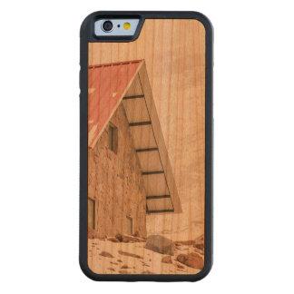エクアドルのChimborazo山の避難所 CarvedチェリーiPhone 6バンパーケース