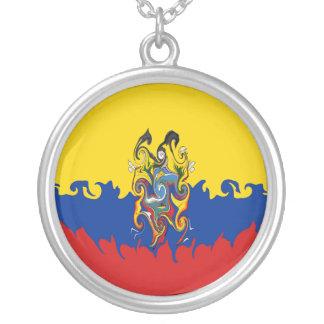 エクアドル|すごい|旗 ネックレス