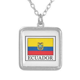 エクアドル シルバープレートネックレス
