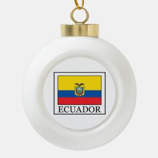 エクアドル セラミックボールオーナメント