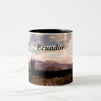 エクアドル ツートーンマグカップ