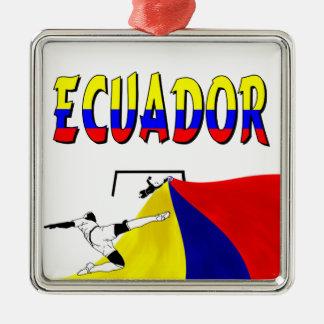 エクアドル メタルオーナメント