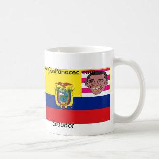エクアドル/米国 コーヒーマグカップ