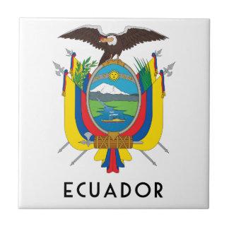 エクアドル-記号か紋章付き外衣か旗または色または紋章 タイル