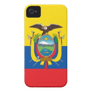 エクアドル- Bandera deエクアドルの旗 Case-Mate iPhone 4 ケース
