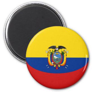 エクアドルFisheyeの旗の磁石 マグネット