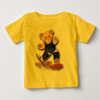 エクササイズのテディー・ベアの乳児のTシャツ ベビーTシャツ